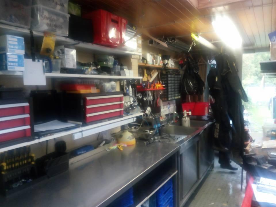 Atelier de réparation et entretien