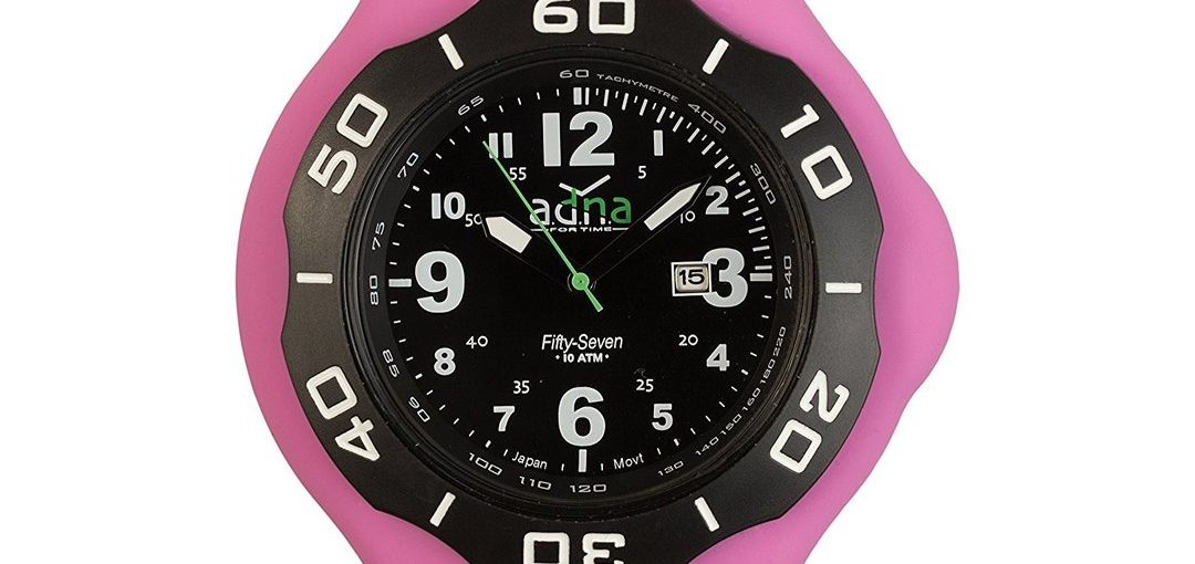 Montre Adna - XXL 57 Black - Étanche 100 m